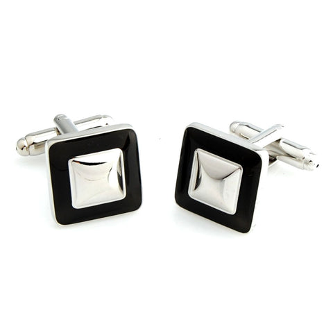 Peluche Everyday Square - Brown Cufflinks Brass
