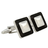 Everyday Square - Brown Cufflinks