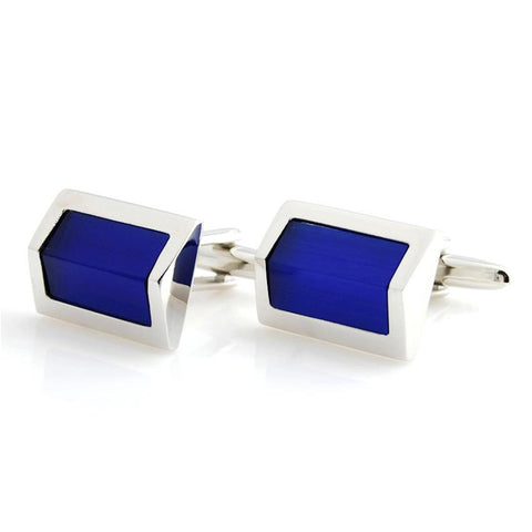 Regal Prism - Blue Cufflinks