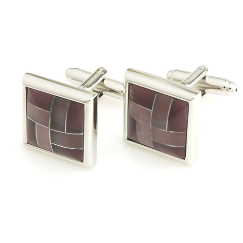 Regal Burgundy - Cufflinks