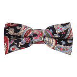 Peluche The Kingsly Supper - Multicolor Pre Tied Bow Tie Linen