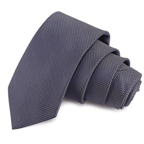 Enamoring Grey Colored Microfiber Necktie for Men | Genuine Branded Product from Peluche.in