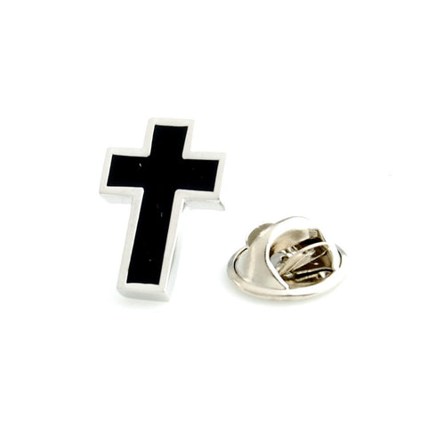 Peluche The Christian Cross - Lapel Pin Brass, Enamel