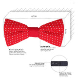 The Quirky Red Polka - Bow Tie