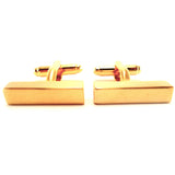 Peluche Bullion Golden Bar - Cufflinks Brass, Metal