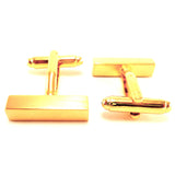 Bullion Golden Bar - Cufflinks