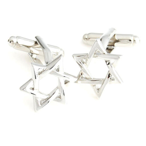 Peluche The Star - Cufflinks Brass, Metal
