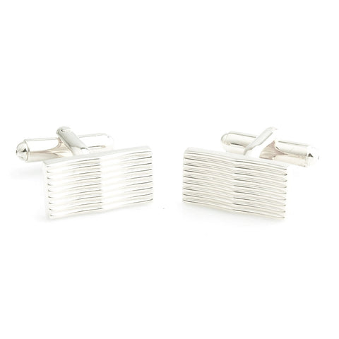 Peluche Curves to Kill - Silver Cufflinks Brass, Metal