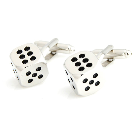 Peluche Gameplan - Black Cufflinks Brass, Enamel