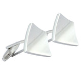 Killing Curve Silver Cufflinks