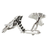 The Caduceus Symbol Cufflinks