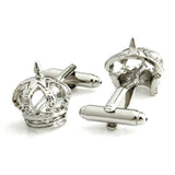 Crown - Silver Cufflinks