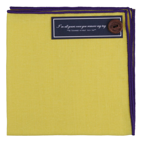 Peluche The Goodfellow - Pocket Square Linen
