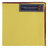 Peluche The Yellow Goodfellow - Pocket Square Linen