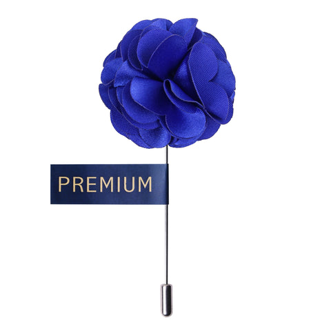 Ornamental Treat - Peluche Blue Brooch