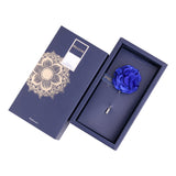 Ornamental Treat - Blue Brooch