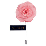 Brawny Delicacy - Light Pink Brooch Lapel Pin