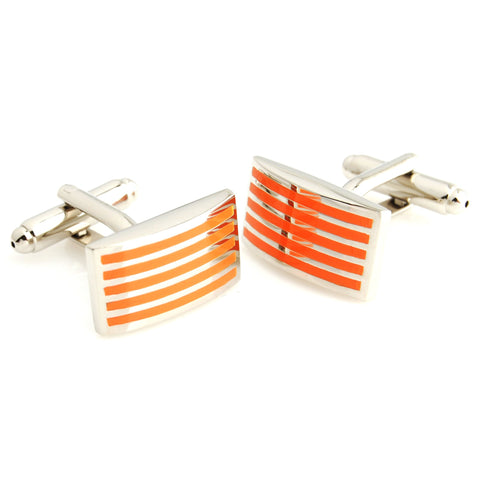 Minimalist Mi Orange Cufflinks