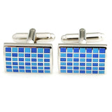 Mr.Dapper - Rock the Party - Blue Cufflinks