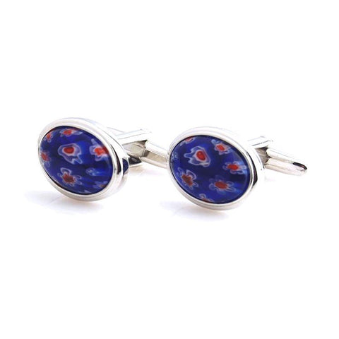 Peluche Shooting Flowers - Cufflinks Brass
