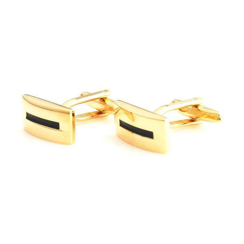Peluche Silent Killer - Golden Cufflinks Brass, Enamel