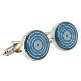 Simply Suave - Blue Cufflinks