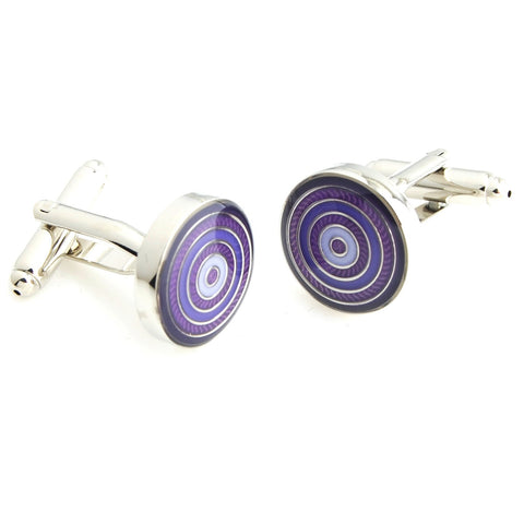 Peluche Simply Suave - Purple Cufflinks Brass