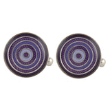Simply Suave - Purple Cufflinks