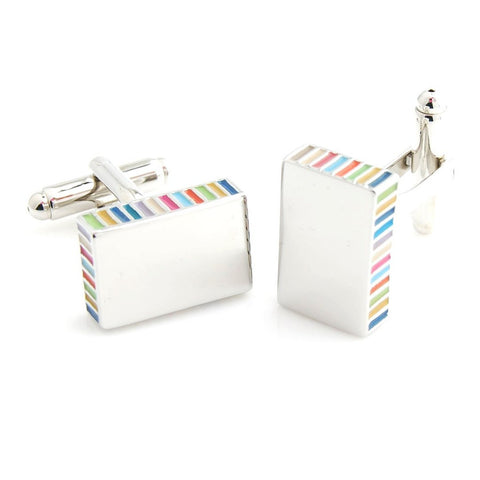 Rainbow Bar - Cufflinks