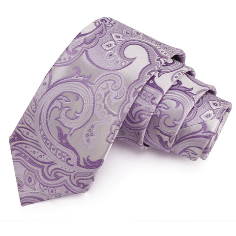 Dazzling Purple Colored Microfiber Necktie for Men | Genuine Branded Product from Peluche.in