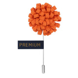 A Glorious Crescendo - Orange Brooch Lapel Pin