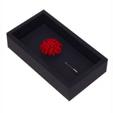 A Glorious Crescendo - Red Brooch Lapel Pin