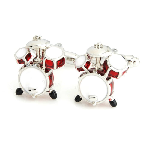 Little Drums Red Cufflinks for Men | Genuine Branded Product from Peluche.in
