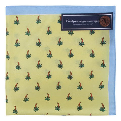 Peluche Silk n Quirky - Pocket Square Silk, Pure Silk