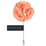 Ranunculus Flower - Light Pink Brooch Lapel Pin