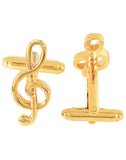 Symphony - Golden Cufflinks