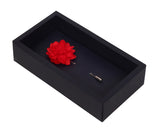 Elron Petals - Red Brooch Lapel Pin