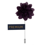 Elron Petals - Purple Brooch Lapel Pin