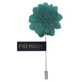 Elron Petals - Ocean Blue Brooch Lapel Pin