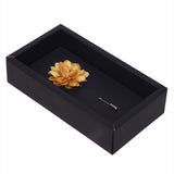 Elron Petals - Light Golden Brooch Lapel Pin