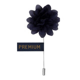 Elron Petals - Royal Blue Brooch Lapel Pin