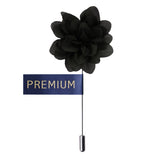 Blooming Glamor Dark Green Colored Brooch / Lapel Pin for Men | Genuine Branded Product from Peluche.in