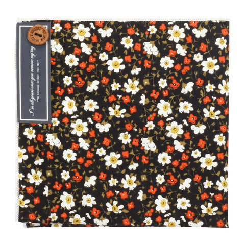 Mini Flowers Multicolored Pocket Square for Men