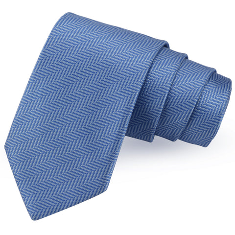 Appealing Blue Colored Microfiber Necktie for Men | Genuine Branded Product from Peluche.in