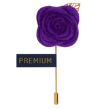 The Prince Charming - Purple Brooch Lapel Pin