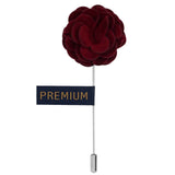 Wonderful Tulip - Maroon Brooch Lapel Pin
