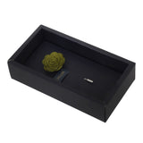 Blooming Charm Green Colored Brooch for Men
