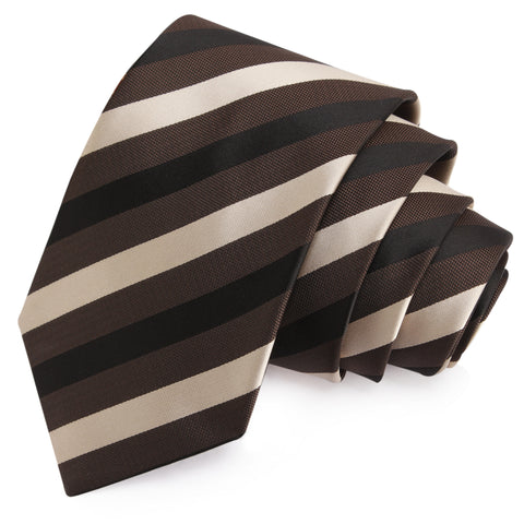 Suave Beige Colored Microfiber Necktie for Men | Genuine Branded Product from Peluche.in