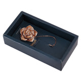 Beautiful Rose Brown and Golden Colored Lapel Pin for Men