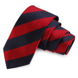 Trig Red Colored Microfiber Necktie for Men | Genuine Branded Product from Peluche.in